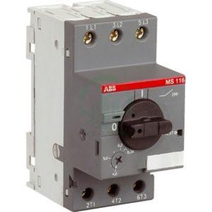 автоматы защиты электродвигателей ABB
