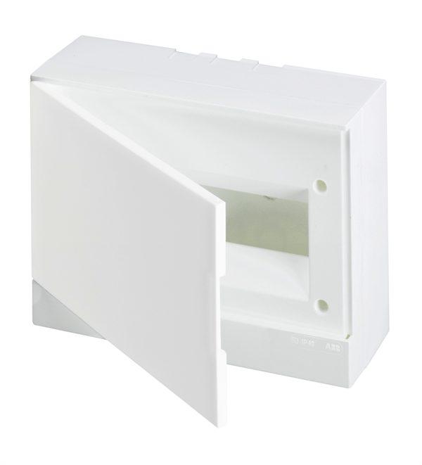 Бокс настенный Basic E ЩРн-П 12М белая непрозрачная дверь