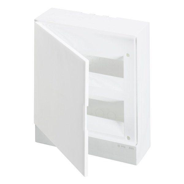 Бокс настенный Basic E ЩРн-П 16М белая непрозрачная дверь