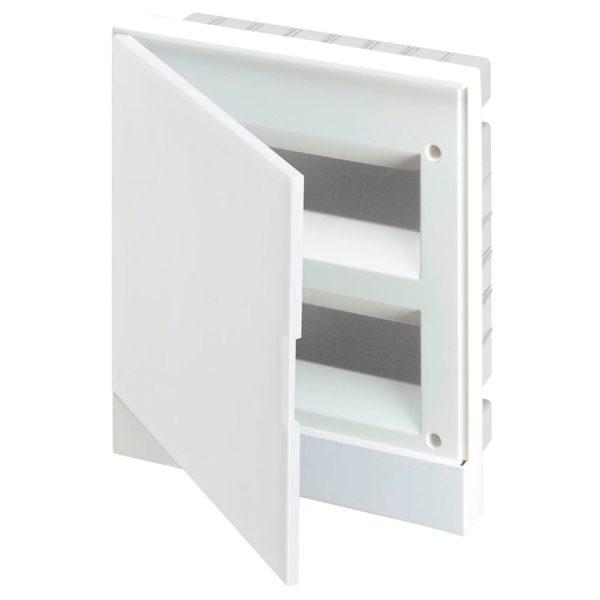 Бокс настенный Basic E ЩРн-П 24М белая непрозрачная дверь