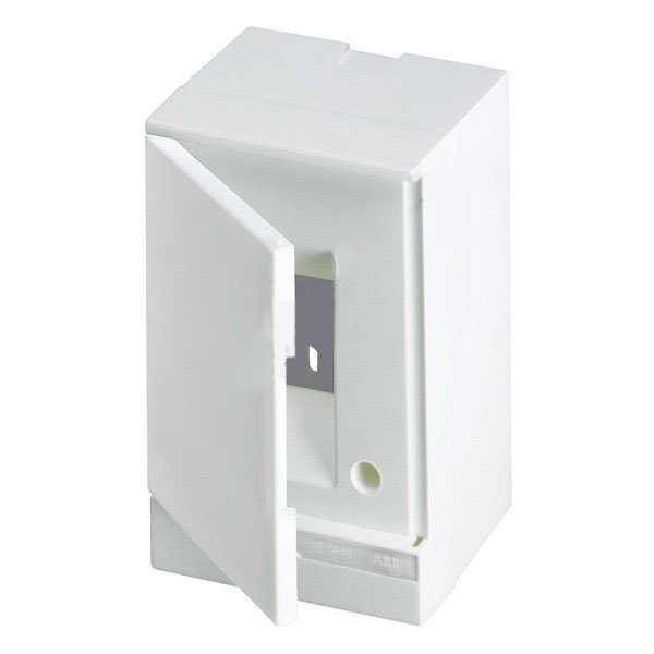 Бокс настенный Basic E ЩРн-П 2М белая непрозрачная дверь