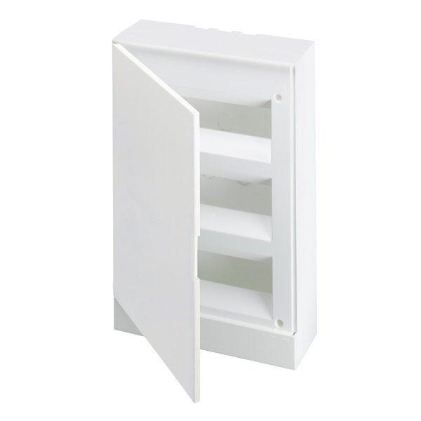 Бокс настенный Basic E ЩРн-П 36М белая непрозрачная дверь