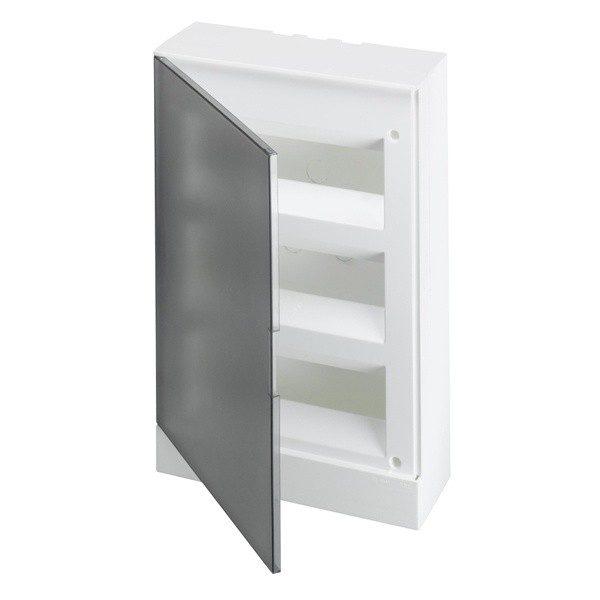 Бокс настенный Basic E ЩРн-П 36М серая прозрачная дверь