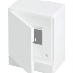 Бокс настенный Basic E ЩРн-П 4М белая непрозрачная дверь