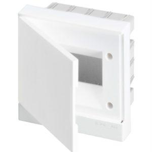 Бокс в нишу Basic E ЩРв-П 6М белая непрозрачная дверь