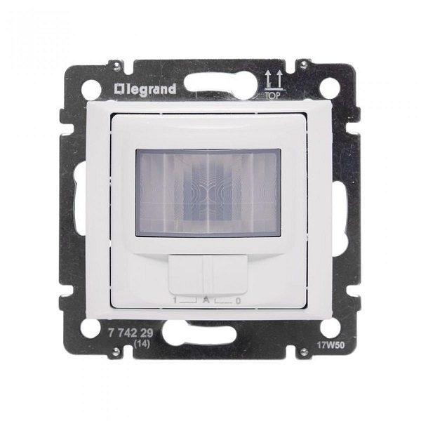 Датчик движения Legrand Valena белый Комфорт 1000 Вт 3-х проводная схема подключения