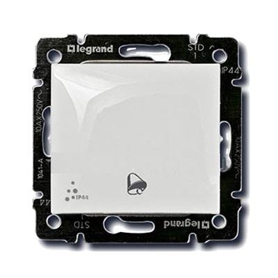 Переключатель Legrand Valena белый 1-клавишный IP 44