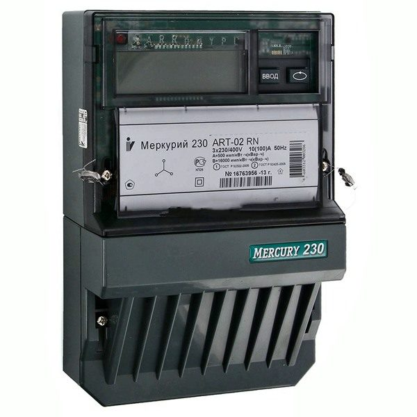 Счетчик электроэнергии трехфазный многотарифный Меркурий 230 ART-03 CN Тр