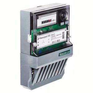 Счетчик электроэнергии трехфазный однотарифный Меркурий 230 AM-03 Тр