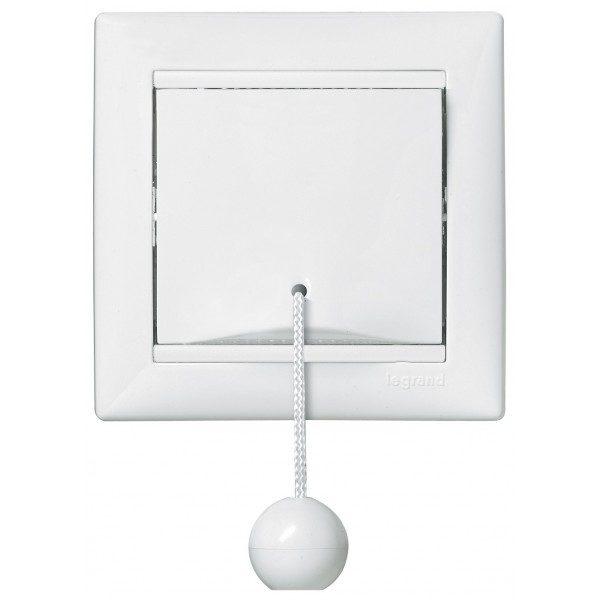 Выключатель Legrand Valena белый кнопочный со шнурком
