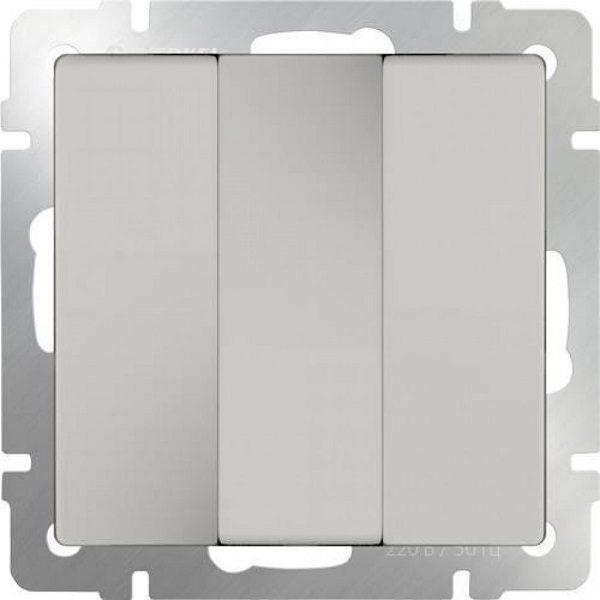 WL06-SW-3G Выключатель трехклавишный