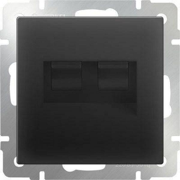 WL08-RJ45+RJ45 Розетка двойная Ethernet RJ-45