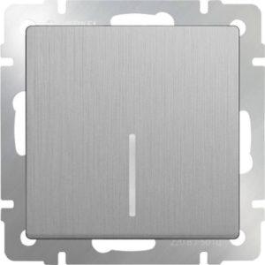 WL09-SW-1G-LED Выключатель одноклавишный с подсветкой