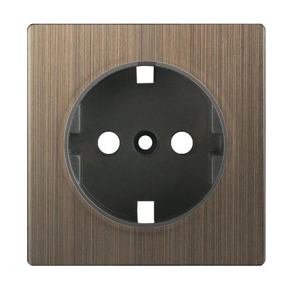 WL12-USB-CP Накладка для USB розетки