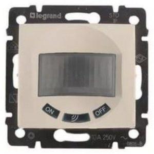 Датчик движения Legrand Valena Крем Комфорт 1000 Вт 3-х проводная схема подключения
