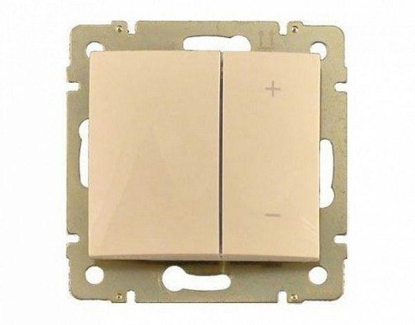 Светорегулятор Legrand Valena Крем нажимной 40-400W для л-н, универсальный, многофункциональный