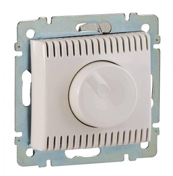 Светорегулятор Legrand Valena Крем поворотный 100-1000W для л-н, галог. ламп с обмоточным т-ром