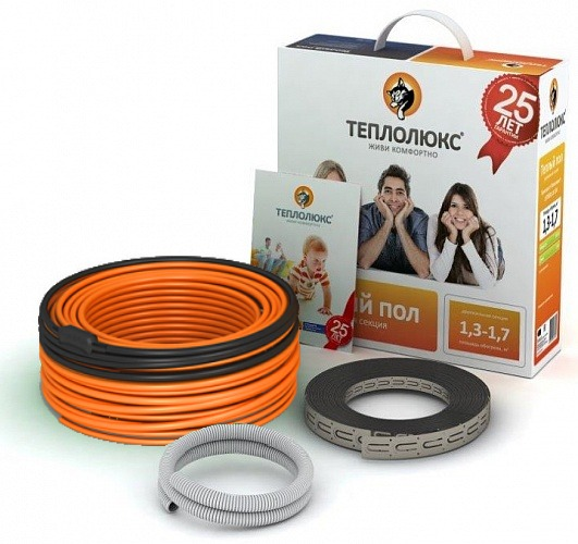 Двужильные кабели Теплолюкс Tropix ТЛБЭ