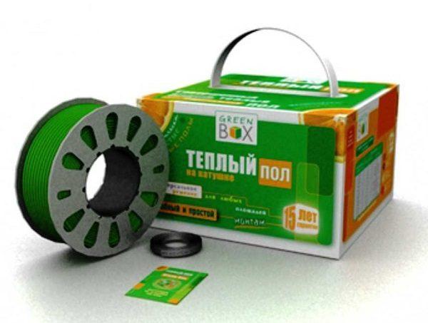 Двужильные нагревательные кабели Теплолюкс Green Box