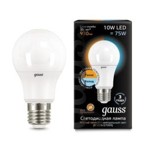 Диммируемые лампы GAUSS