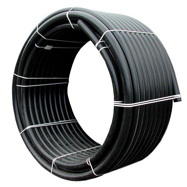 Труба полиетиленовая ПНД черная для полива СДР