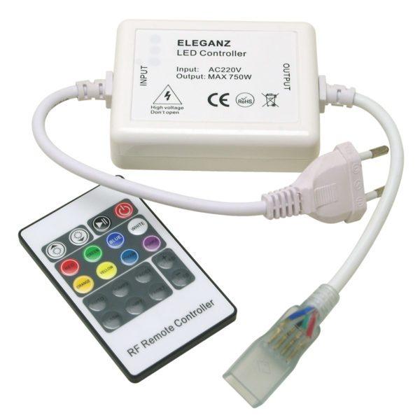 Контроллер кнопочный для RGB ленты радио