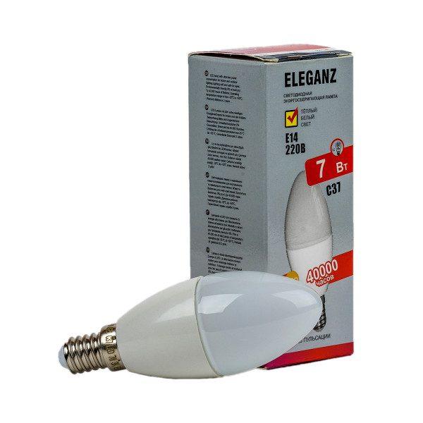 Светодиодная лампа E14 – 7Вт свеча Eleganz