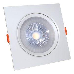 Светодиодный светильник 12 Вт поворотный квадратный