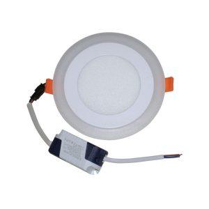 Светодиодный светильник 12 Вт с подсветкой круглый