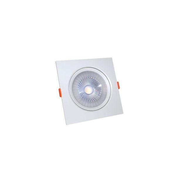 Светодиодный светильник 6 Вт поворотный квадратный