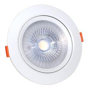 Светодиодный светильник поворотный 12 Вт круглый